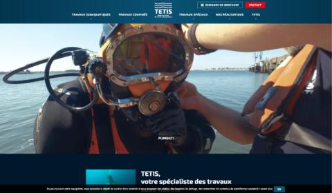 Tetis Page d accueil site