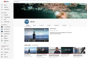 chaine BALAO sur YouTube