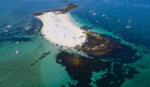 île de Guiriden vue aérienne